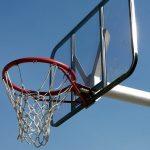 バスケットゴールの画像