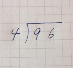 割り算の筆算①