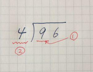 割り算の筆算②