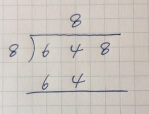 割り算の筆算⑬