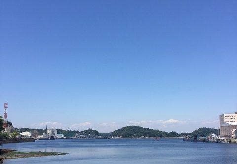 横須賀スタバの眺め