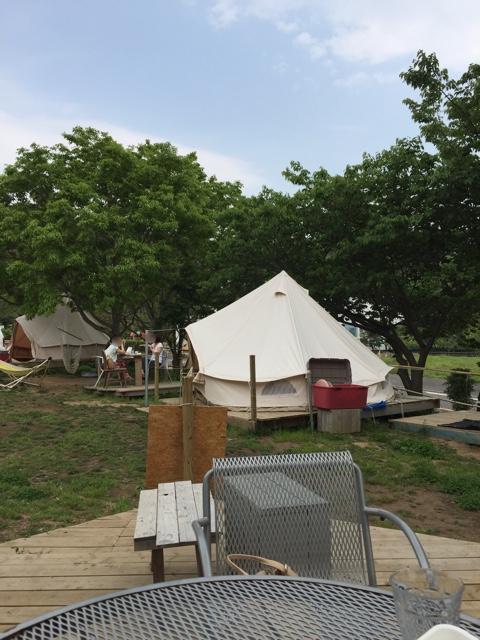 アーセンプレイス テント
