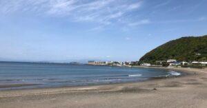 葉山一色海岸の写真