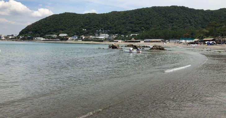 一色海岸の写真