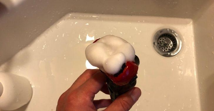 ラムダッシュの泡モード