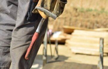 工事作業員の画像